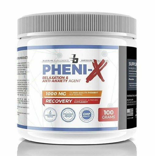 BlackLine Supplements Pheni-X 100g Powder (100% Phenibut)