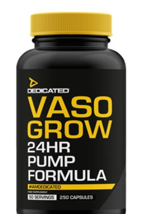 Dedicated Vaso Grow V3 - 250 Kapseln (50 Servings)