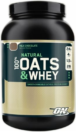 Optimum Nutrition Natural 100% Oats & Whey 1360g