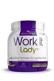 Olimp Queen Fit Work It Lady 337g - SALE