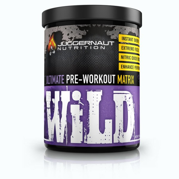 Juggernaut Nutrition WILD 429g - 1.4 DMAA 30 Servings