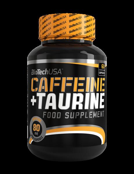 Biotech USA Caffeine + Taurine 60 Kapseln