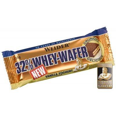 Weider 32% Whey-wafer Proteinriegel 24x 35g