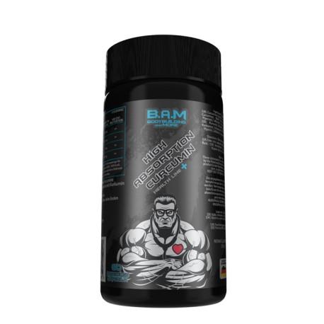 B.A.M Curcumin 90 Kapseln a 250 mg auf 95% Curcumin