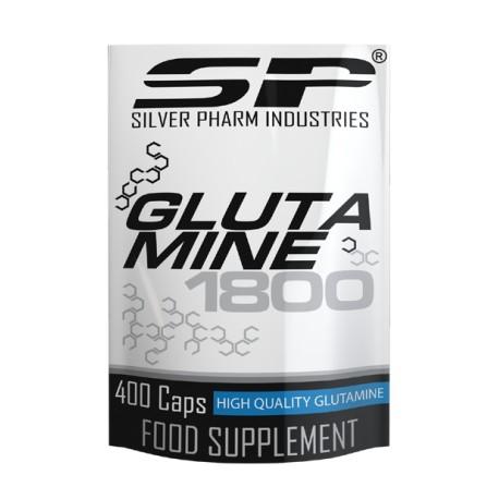 Silver Pharm Glutamine 1800 400 Kapseln - MHD 05/2017