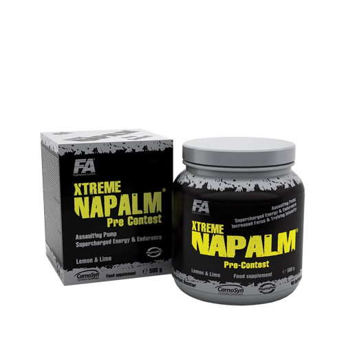 FA Xtreme Napalm Pre-Contest 500g