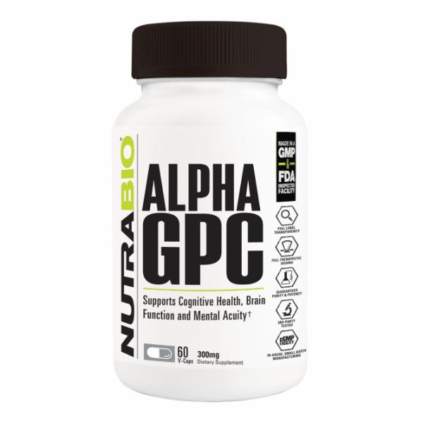 NUTRABIO LABS Alpha GPC 60 Kapseln