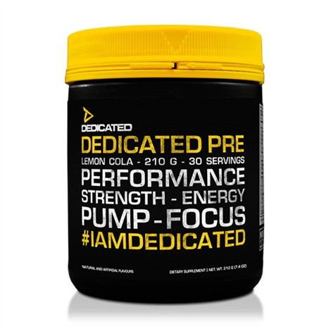 Dedicated PRE 210g - 30 Servings