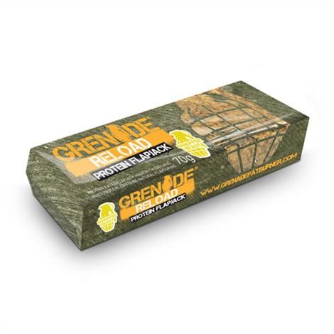 Grenade Reload PROTEIN Flapjacks - 12 Riegel á 70g