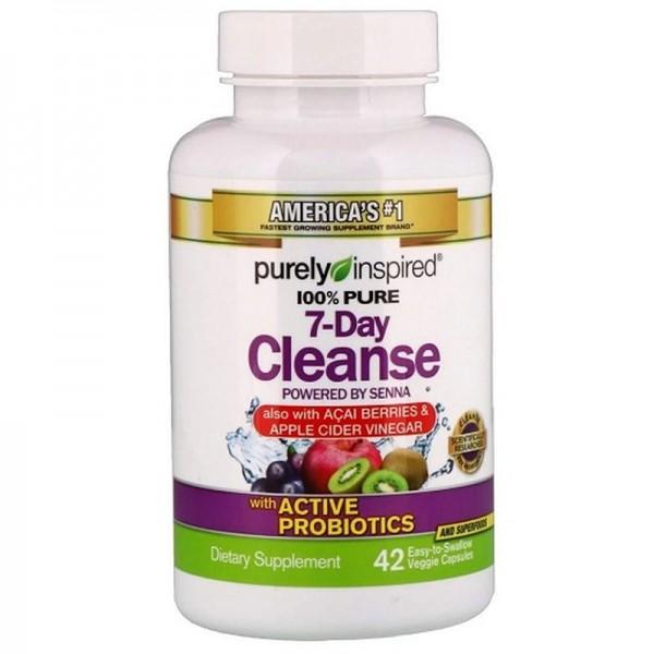 Muscletech 100% Pure 7-Day Cleanse 42 Kapseln