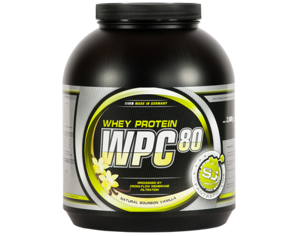 S.U. WPC-80 2000g - Protein/Eiweiss MADE IN GERMANY