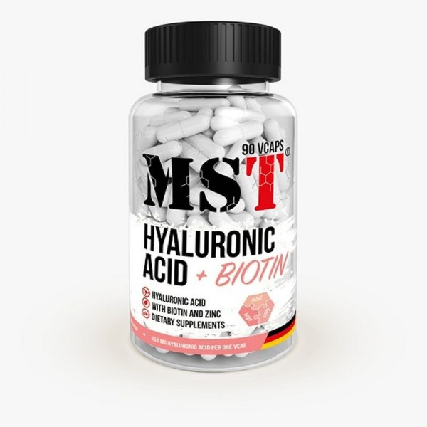 MST Hyaluronic Acid 150 mg + Biotin 90 Kapseln - Hyalorinsäure