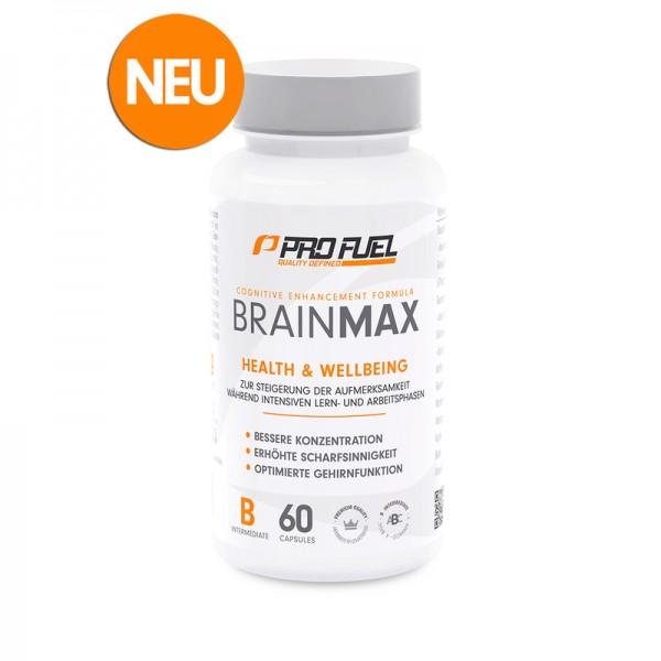ProFuel BrainMax 60 Kapseln (Konzentrations- & Gedächtnis Booster)