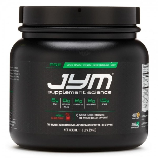 JYM Pre 30 Servings by Jim Stoppani