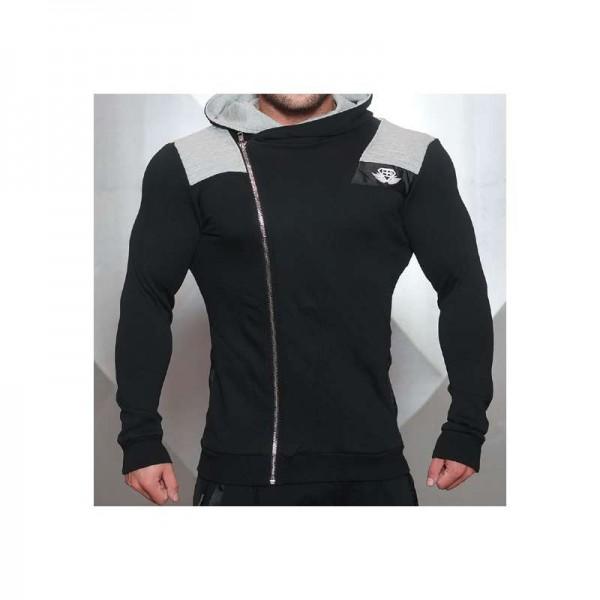 Body Engineers YUREI Sleeveless vest – LIGHT GREY & BLACK ACCENTS