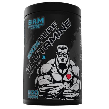 B.A.M 100% Pure L-Glutamin 500g
