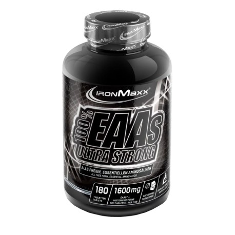 IronMaxx 100% EAAs Ultra Strong 180 Tabletten