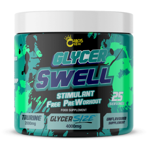 CHAOS CREW Glycer Swell 200g - STIM FREE PUMP BOOSTER