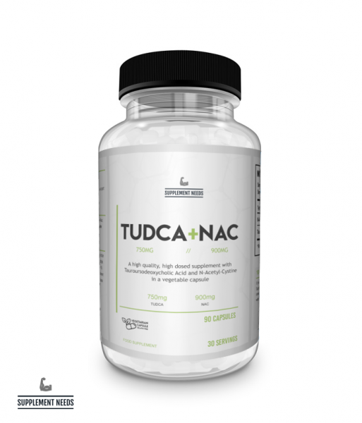 SUPPLEMENT NEEDS TUDCA + NAC 90 Kapseln - DAS LEBER SUPPLEMENT!