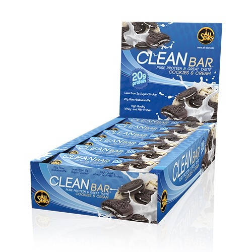 All Stars Clean Bar 12x60g Riegel