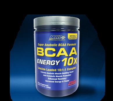 MHP BCAA 10X Energy 300g - BCAA 10:1:1