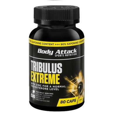 Body Attack Tribulus Extreme 80 Kapseln