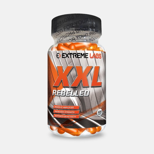 Extreme Labs XXL rebelled Anabolic Amplifier 120 Kapseln