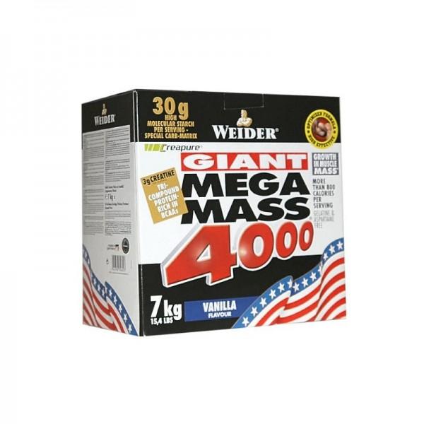 Weider Mega Mass 4000 - 7,0kg 15,4lbs