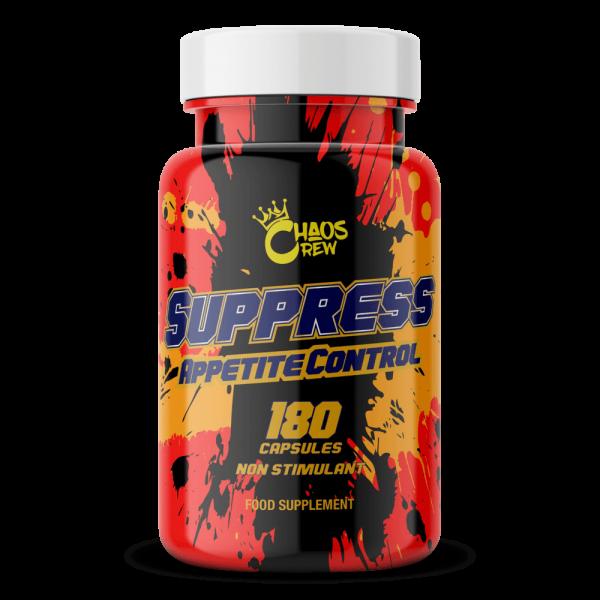 CHAOS CREW Suppress Appetite Control 180 Kapseln