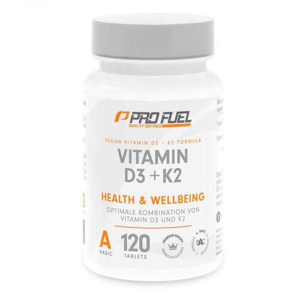 ProFuel Vitamin D3 & K2 120 Tabletten