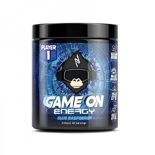 Player 1 Game On Gaming Energy 200g - GAMING BOOSTER