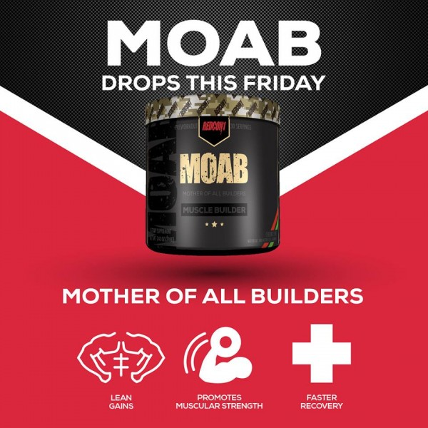 Redcon1 MOAB 210g - MOTHER OF ALL MUSCLE BUILDERS