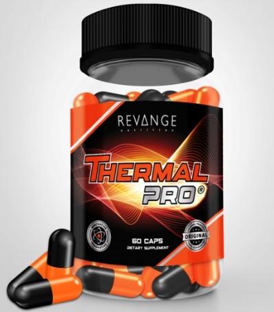 Revange Nutrition Thermal PRO 60 Kapseln - EXTREM FATBURNER