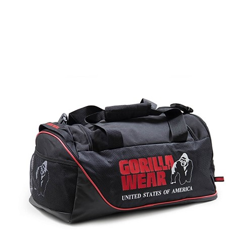 Gorilla Wear Jerome Gym Bag – Black/Red