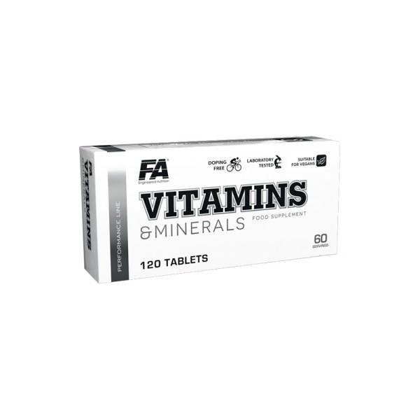 FA Performance VITAMINS und MINERALS - 120 Tabletten