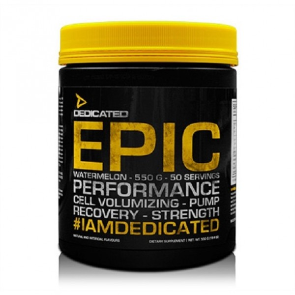 Dedicated Epic V2 550g - 50 Servings