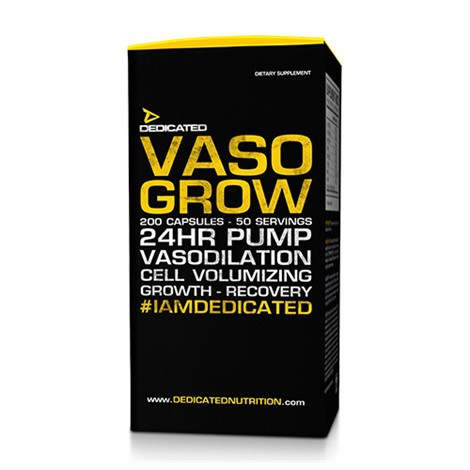 Dedicated Vaso Grow V2 - 200 Kapseln (50 Servings)