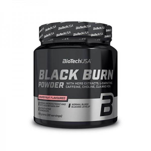 BioTech Black Burn Powder Grapefruit 210g