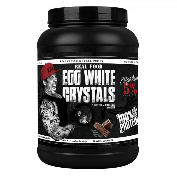 5% Nutrition Real Food Egg White Crystals 750g - 30 Servings