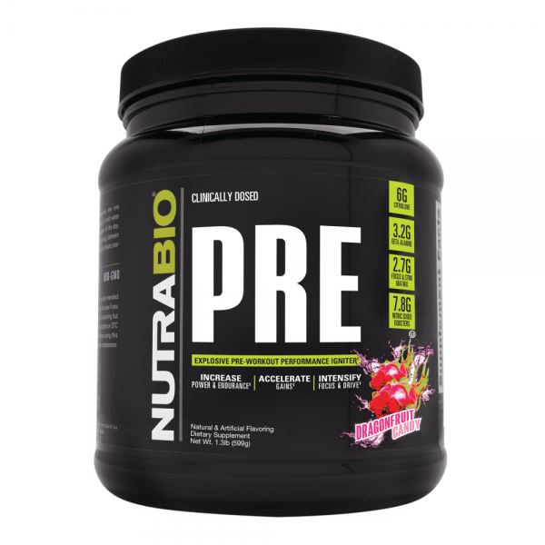 NUTRABIO LABS Pre-Workout Extreme V5 585g