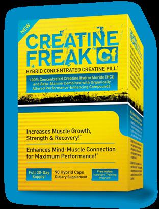 PharmaFreak Creatine Freak 90 Kapseln
