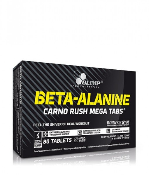 Olimp Beta-Alanine Carno Rush Mega Tabs 80 Tabletten