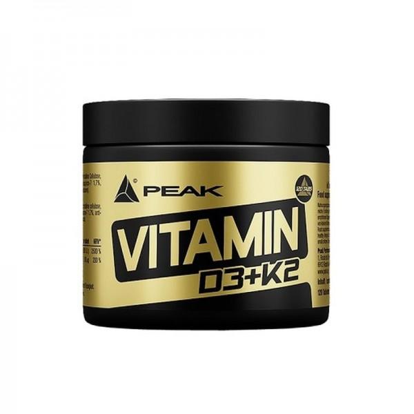 Peak Vitamin D3+K2 120 Kapseln