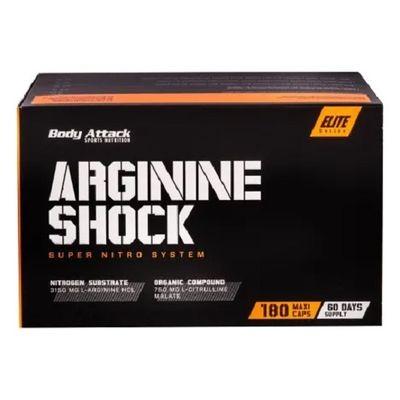 Body Attack Arginine Shock 180 Kapseln