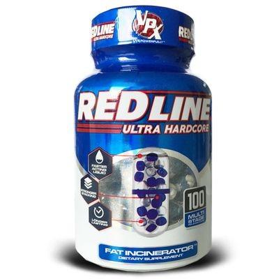 VPX Red Line Ultra Hardcore Fatburner 100 Kapseln