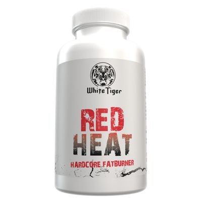 White Tiger - Red Heat Hardcore Fatburner 30 kapseln