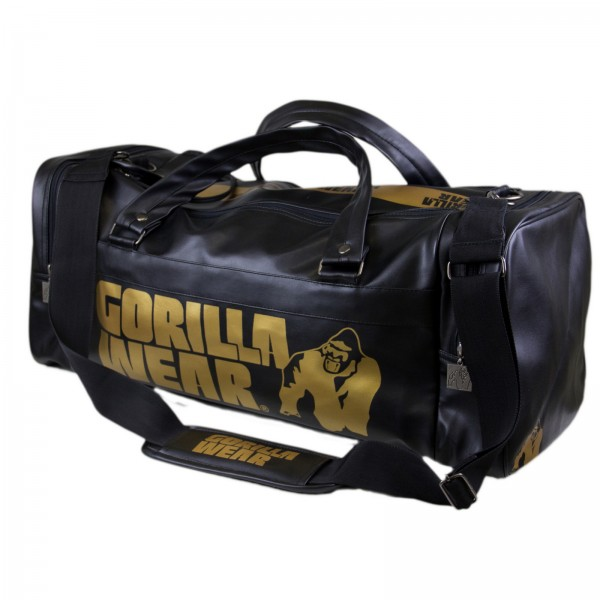Gorilla Wear Gym Bag Black/Gold 2.0