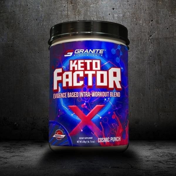 Granite Keto Factor X 670g - 20 Servings (Intra Workout)