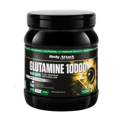 Body Attack Glutamine 10000 300 Kapseleln