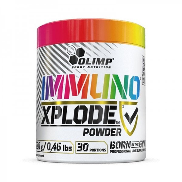 Olimp Immuno Xplode Powder 210g Zitrus Lemonade